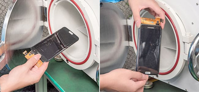 conserto troca tela celular